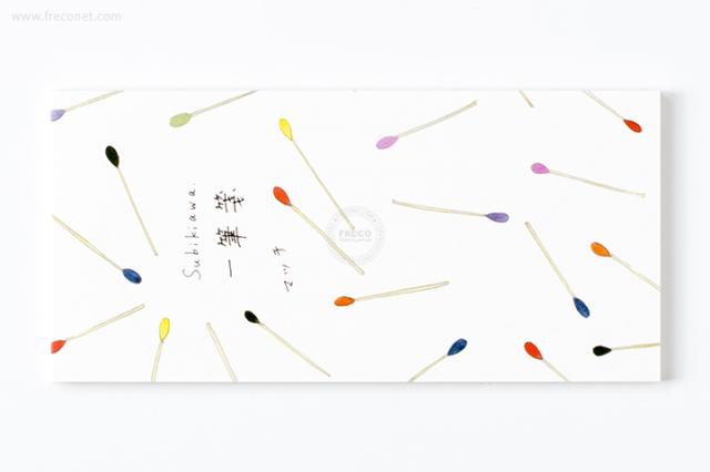 Subikiawa 一筆箋 マッチ(23-809)【クロネコDM便OK】