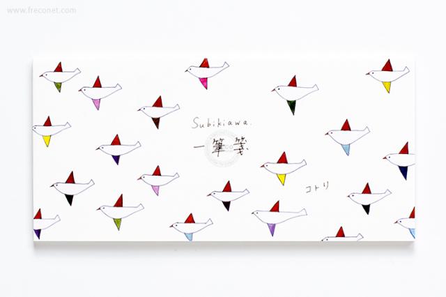 Subikiawa 一筆箋 コトリ(23-811)【クロネコDM便OK】
