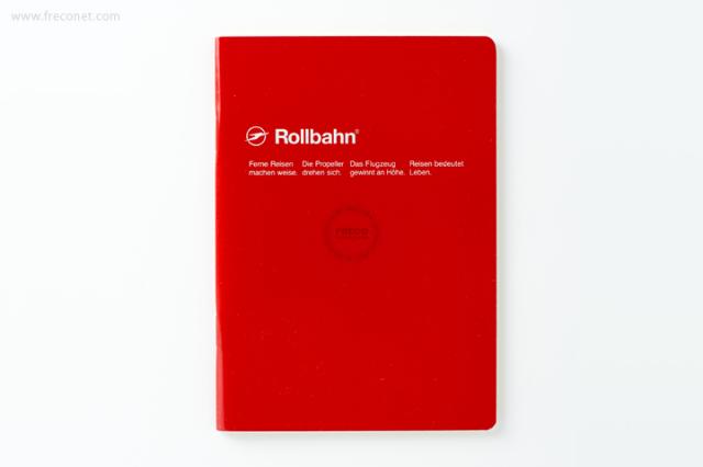 ロルバーン ノート A6 レッド(500048-124)【クロネコDM便OK】