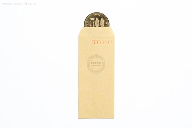 ミニ封筒 / 茶封筒ミニ(FM-N4)【クロネコDM便OK】