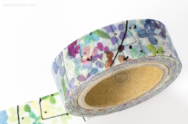 Fion Stewartマスキングテープ floral(FS-MT-003)【メール便OK】