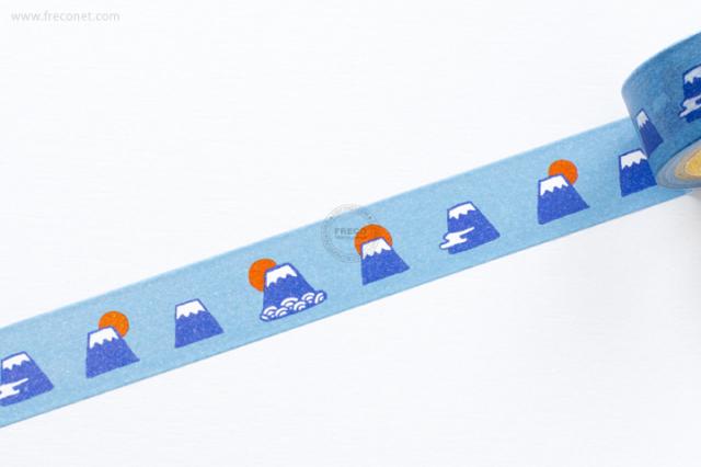 ふわりマスキングテープ 富士山(FW47010)【クロネコDM便OK】