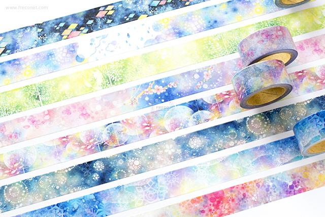 星空百貨マスキングテープ 1st おまとめパック(HH-HK01~08)【クロネコDM便OK】