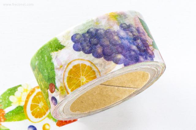 星空百貨マスキングテープ fresh fruits(HH-LM02)【クロネコDM便OK】