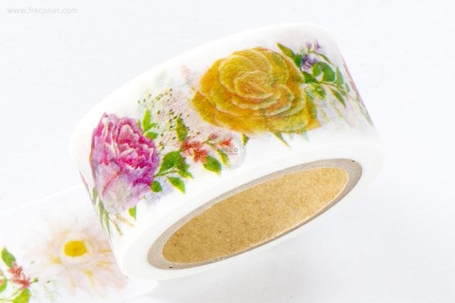 星空百貨マスキングテープ colorful flower(HH-LM03)【クロネコDM便OK】