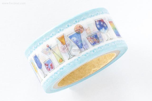 星空百貨マスキングテープ 空色カクテル(HH-YS04)【クロネコDM便OK】