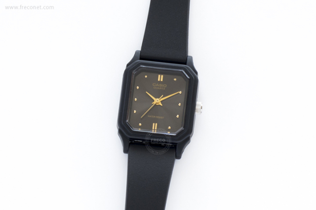 CASIO 腕時計 スクエア スモール アッシュ(LQ-142E-1A)【クロネコDM便OK】