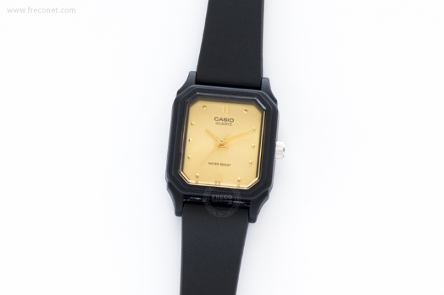 CASIO 腕時計 スクエア スモール ゴールド(LQ-142E-9A)【クロネコDM便OK】