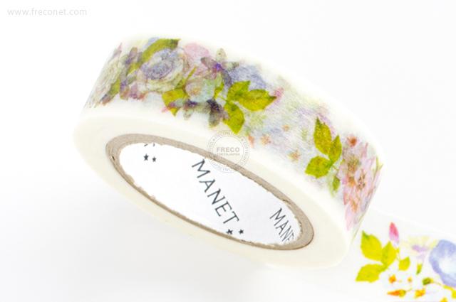 MANETマスキングテープ Flower Garden3(MN-MT-044)【クロネコDM便OK】