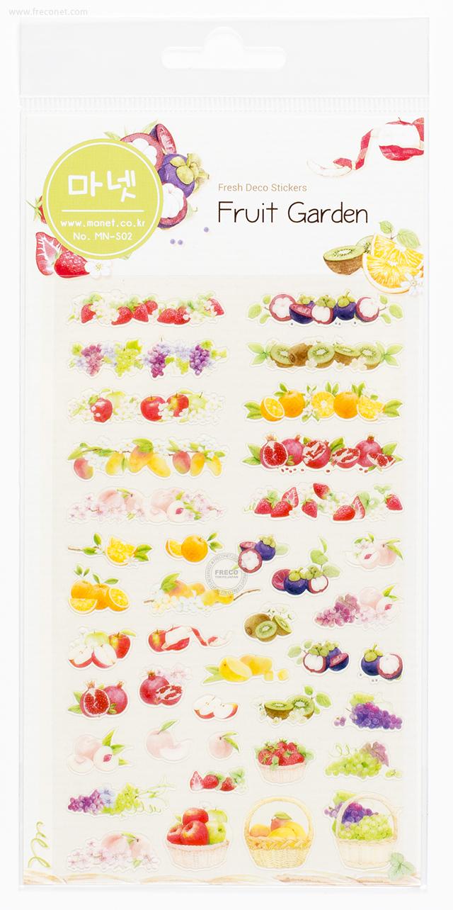 MANETシール Fruit Garden(MN-S02)【クロネコDM便OK】