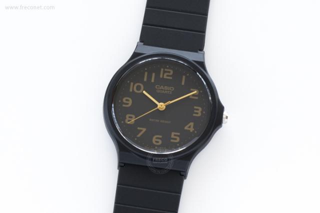 CASIO 腕時計 ラウンド ブラック(MQ-24-1B)【クロネコDM便OK】