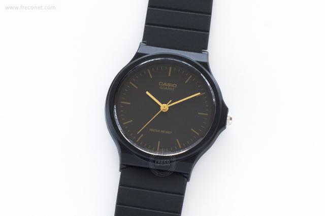 CASIO 腕時計 ラウンド ブラック(MQ-24-1E)【クロネコDM便OK】