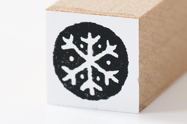 moda クリスマススタンプ(ちび)結晶●(MS-5138)【メール便OK】