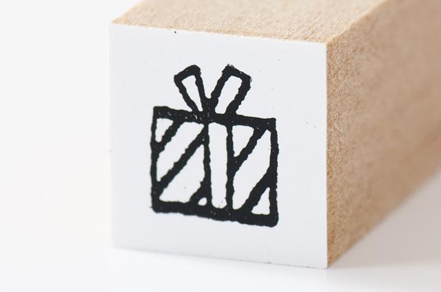 moda クリスマススタンプ(ちび)プレゼント(MS-5169)【メール便OK】