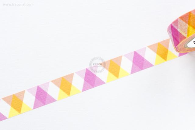 mt DECO 三角とダイヤ ピンク(MT01D335)【クロネコDM便OK】