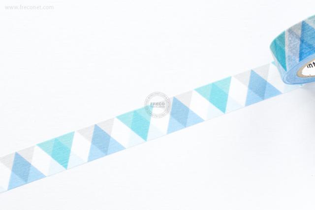 mt DECO 三角とダイヤ ブルー(MT01D336)【クロネコDM便OK】