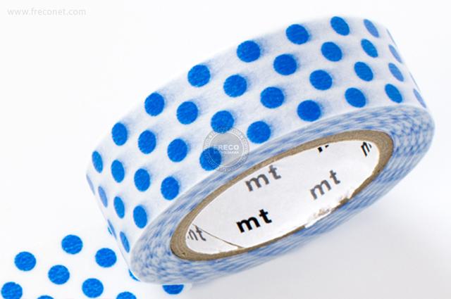 mt ドット ブルー(MT08D230)【メール便OK】