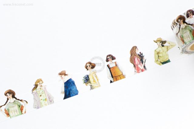 小莫文具マスキングテープ 時光遊走(MTO-501208)【宅急便配送】