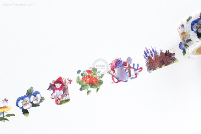 小莫文具マスキングテープ 小紅帽 - Plant (MTO-501216)【宅急便配送】
