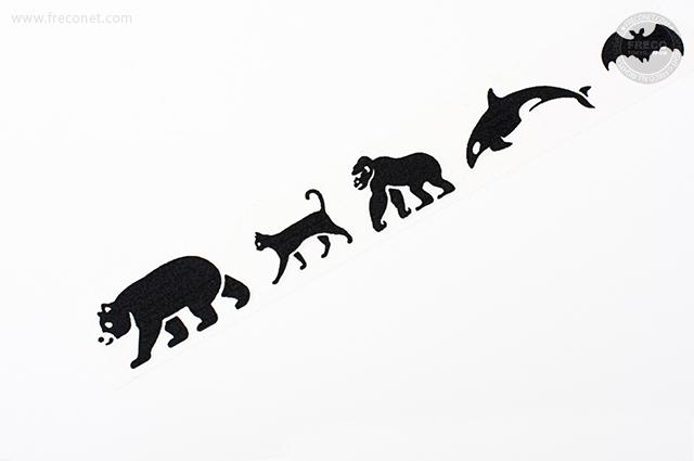mt fab スクリーン 黒い動物(MTSC1P04)【宅急便配送】