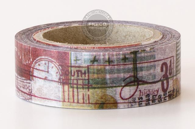 小徑文化×夏米花園マスキングテープ 慈石(MTW-1307-005)*日本製【メール便OK】
