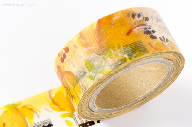 小徑文化×染セン插畫マスキングテープ 日禾(MTW-AJ006)*日本製【メール便OK】