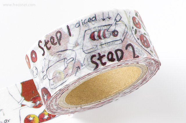 小徑文化×染セン插畫マスキングテープ 日子的撫慰(MTW-AJ010)*日本製【クロネコDM便OK】