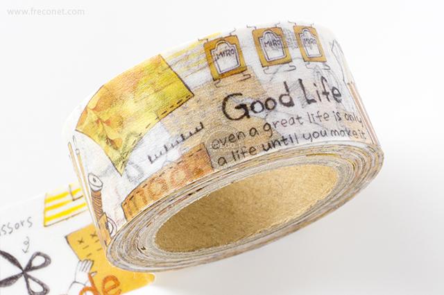 小徑文化×染セン插畫マスキングテープ 日子的縫補(MTW-AJ011)*日本製【クロネコDM便OK】