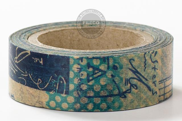 小徑文化×夏米花園マスキングテープ 小視野(MTW-CH027)*日本製【メール便OK】