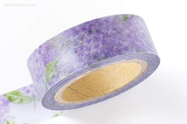 小徑文化×夏米花園マスキングテープ 第5弾 夏日練習曲 紫陽花(MTW-CH056)*日本製【クロネコDM便OK】