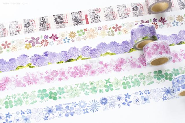 小徑文化 x 夏米花園マスキングテープ 第6弾おまとめパック(MTW-CH062~067)【宅急便配送】