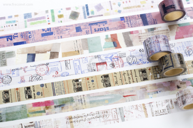 小徑文化 × 夏米花園マスキングテープおまとめパック(MTW-CH081~087)【宅急便配送】