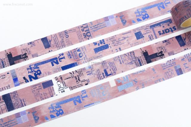 小徑文化 × 夏米花園マスキングテープ PINK(MTW-CH083)【宅急便配送】
