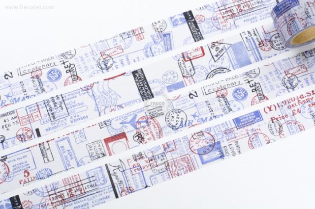 小徑文化 × 夏米花園マスキングテープ POST(MTW-CH084)【宅急便配送】