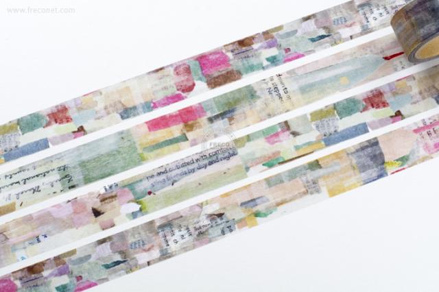 小徑文化 × 夏米花園マスキングテープ TOWNDOT(MTW-CH085)【宅急便配送】