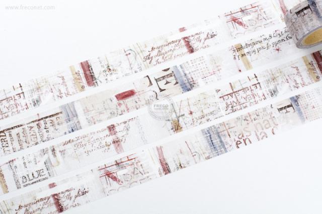小徑文化 × 夏米花園マスキングテープ WATER(MTW-CH086)【宅急便配送】