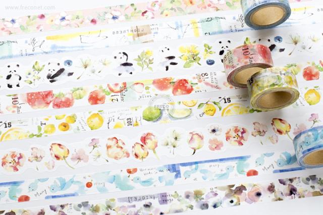 小徑文化×涼丰 Liang Feng マスキングテープおまとめパック(MTW-LF001~008)【宅急便配送】