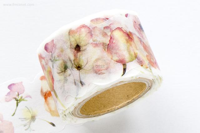 小徑文化×涼丰 Liang Feng マスキングテープ Flower Song(MTW-LF007)【宅急便配送】