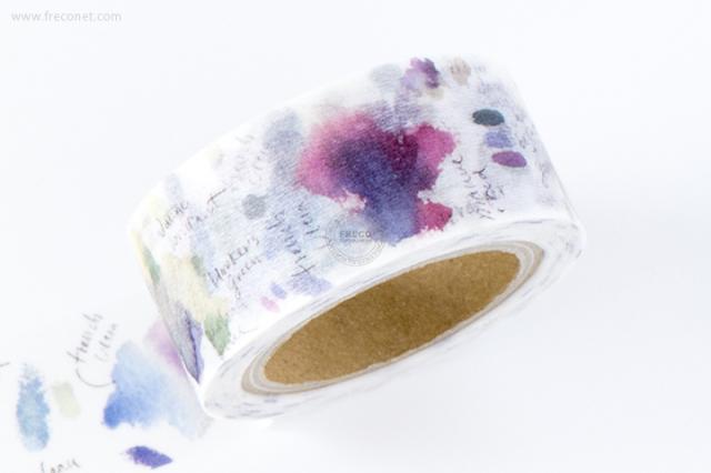 小徑文化×Liang Fengマスキングテープ 第2弾 Flower Violet(MTW-LF015)【クロネコDM便OK】
