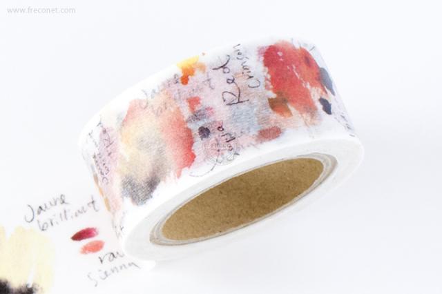 小徑文化×Liang Fengマスキングテープ 第2弾 Leather Sienna(MTW-LF016)【クロネコDM便OK】