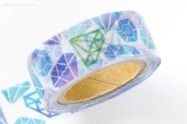 MINDWAVE マスキングテープ Blue diamond(92689)【クロネコDM便OK】