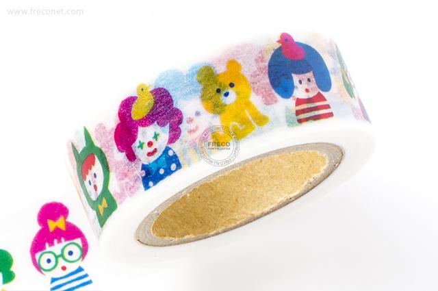 MINDWAVE マスキングテープ Popping kids(92691)【クロネコDM便OK】
