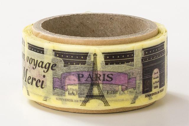 でこがたのマスキングテープ パリ(PN-1831-34-1)【メール便OK】