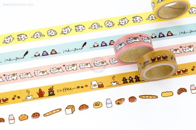 古川紙工マスキングテープおまとめパック(QMT-01・02・07・08・10)【クロネコDM便OK】
