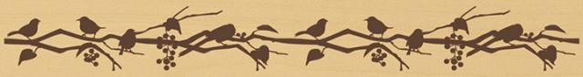 ウッドスタンプ アニマルシリーズ 鳥の集い(WS-H-04)【クロネコDM便OK】