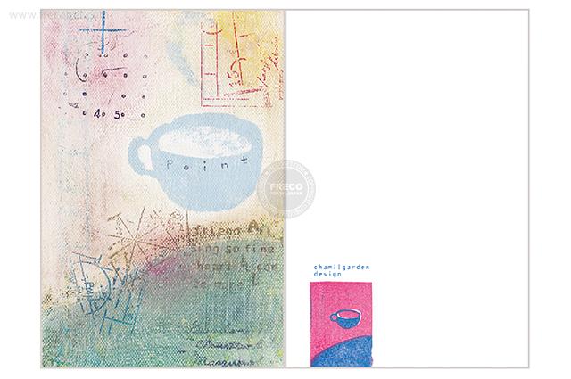 夏米花園ポストカード mount(XM-PC-003)【メール便OK】