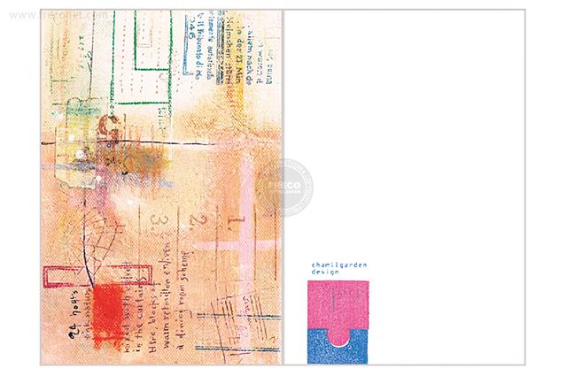 夏米花園ポストカード note(XM-PC-004)【メール便OK】