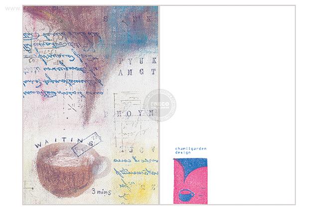 夏米花園ポストカード waiting(XM-PC-005)【メール便OK】