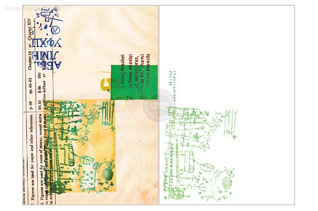夏米花園ポストカード green-star garden(XM-PC-009)【メール便OK】