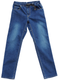 ロックス ロックス×ドミンゴ デニム5ポケットパンツ